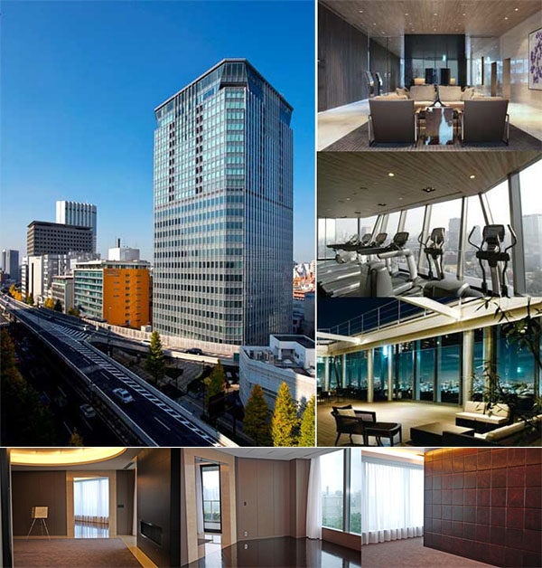 The top 10 most expensive apartments for sale in tokyo for Japan homes for sale