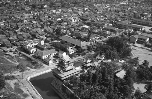 nakatsu-castle-1964