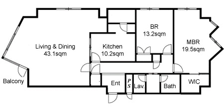 Ichibancho Park Mansion additionally  on maids quarters floor plans