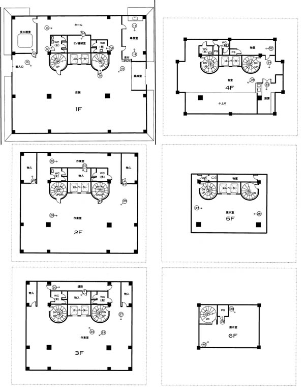Japanese castle floor plan foreclosed japanese castle in for Top rated floor plans