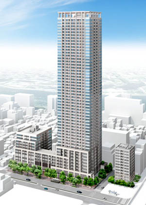 Mitsui starts construction of 53-storey residential tower in Tsukishima