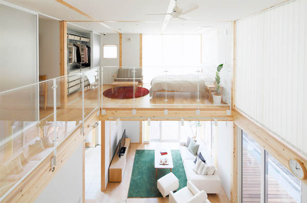 Muji model house opened in saitama japan property central for Maison muji