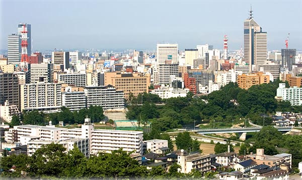 Sendai's property bubble