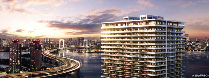 A snapshot of Tokyo Bay's newest condominiums