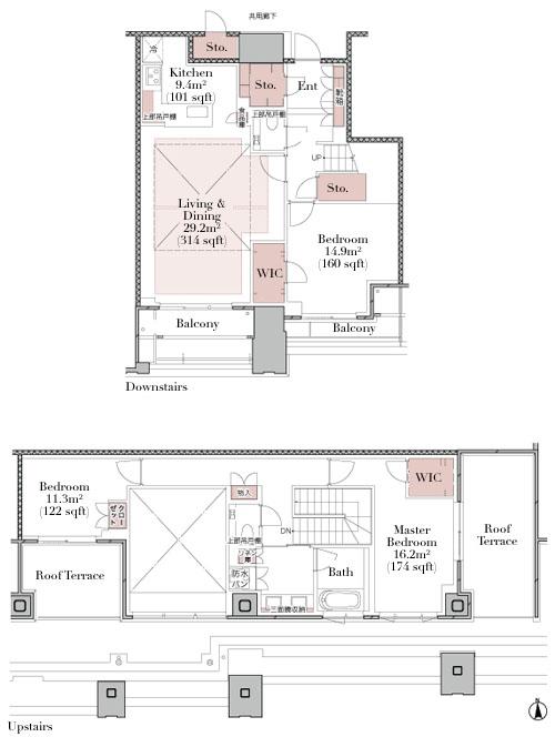 The Residence Mita 140C Type Floorplan