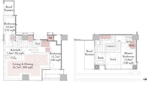 The Residence Mita 140M Floorplan