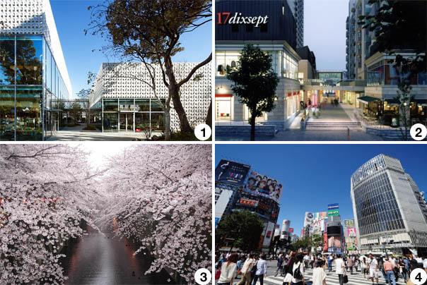 Sunwood Daikanyama Sarugakucho Location copy