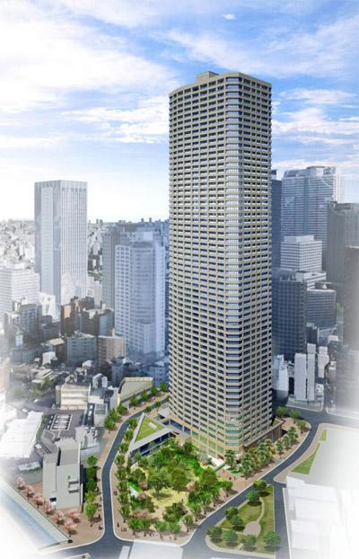 Apartment Building In Japan