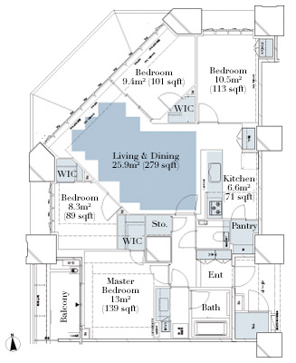 Deux Tours Canal and Spa W 4910 Floorplan