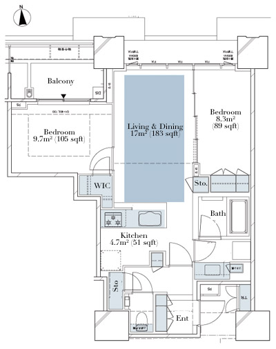 Deux Tours Canal and Spa W 4912 Floorplan