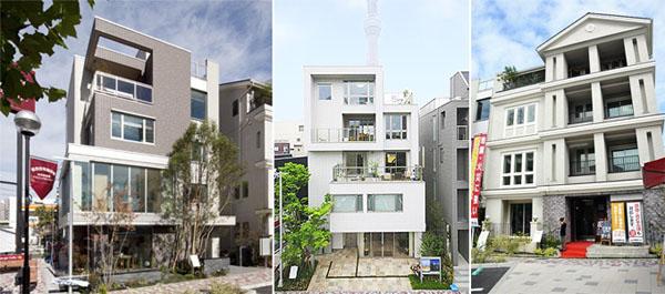 Japan 4 5 storey homes