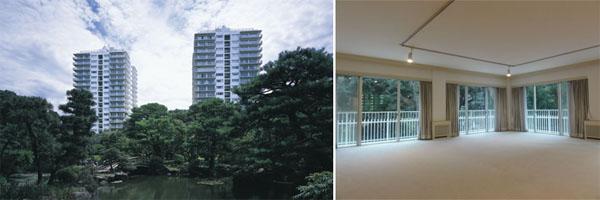 Mita Tsunamachi Park Mansion Tokyo