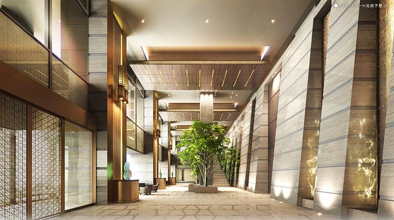 Park City Osaki The Tower Lobby Japan Property Central