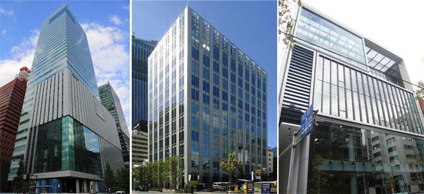 Tokyo Office Buildings October 2013