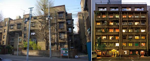 Uenoshita Dojunkai and Ginza Okuno Building