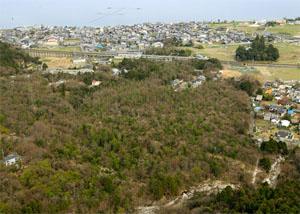 Lake Biwa land