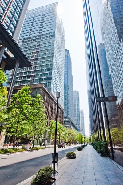 Marunouchi office buildings Tokyo