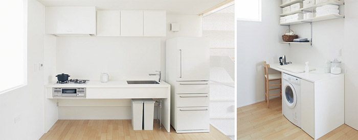 Luxury homes interior kitchen - Muji House Japan 1 Japan Property Central