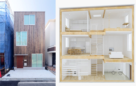Muji S Latest Home Designed For Narrow Urban Spaces Japan Property Central