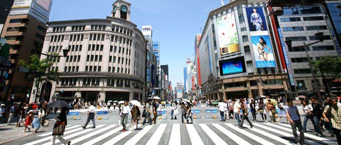 Japan's commercial land prices increase for first time in 8 years