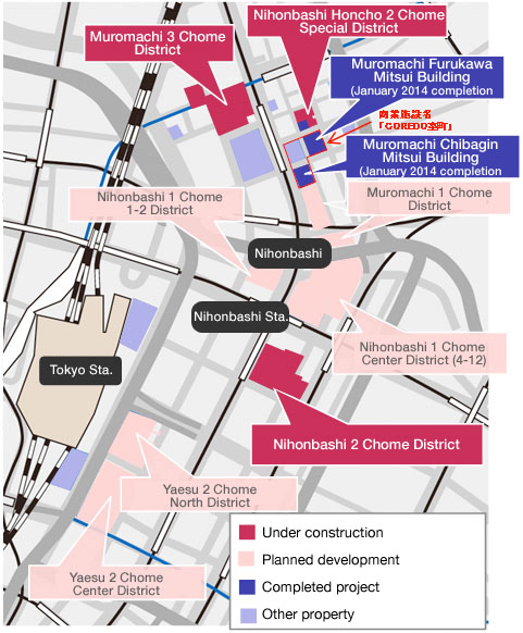 Nihonbashi redevelopment 4