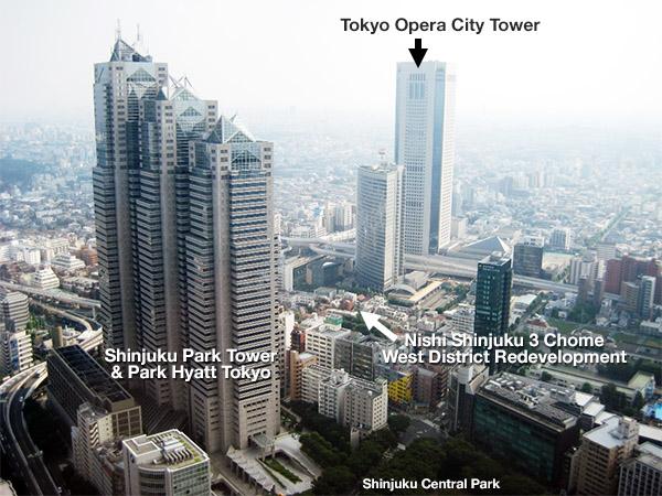 Nishi Shinjuku 3 Chome West District Redevelopment 2