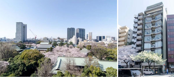 Chiyoda ofice building converted to serviced apartments and office suites