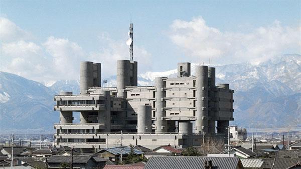 Yamanashi Cultural Hall Kenzo Tange 1
