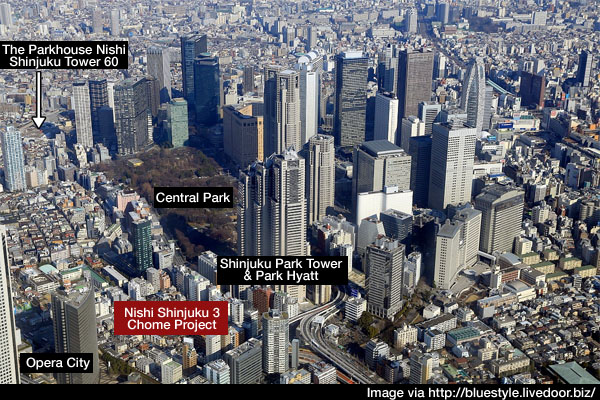 3200 Unit Apartment Building For Nishi Shinjuku Japan