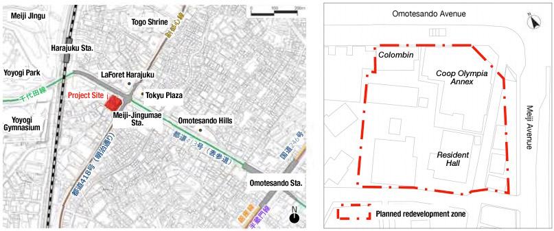 Jingumae 6 District Redevelopment 1