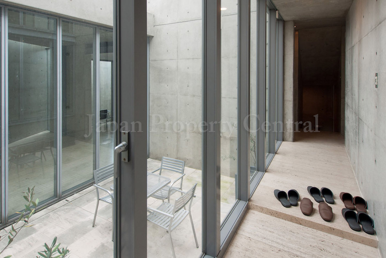 Tadao Ando Designed House In Tokyo For Sale Japan