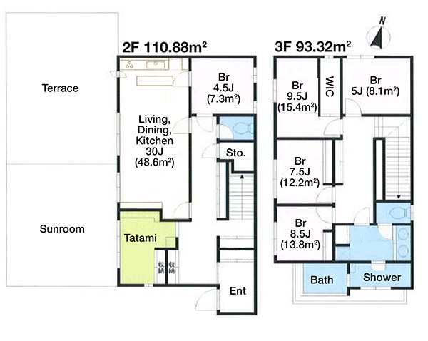 Hiroo 2-21 House Floorplan 1