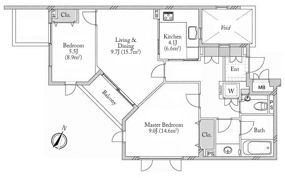 Imperial Omotesando 4F Floorplan