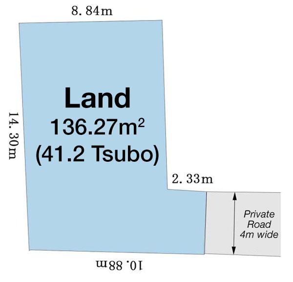 Jingumae 3-13 Land 1