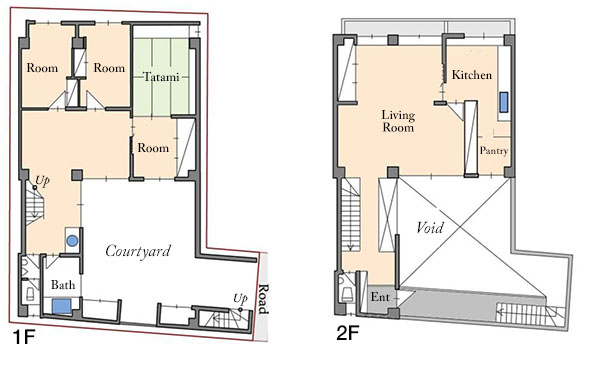 Jingumae 3-13 Land House