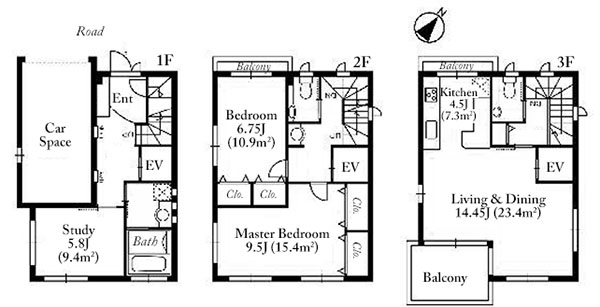 Motoazabu 3 House Floorplan