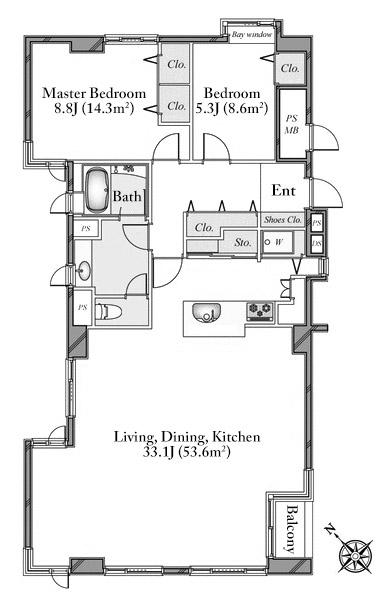 house-minami-aoyama-2f-floorplan