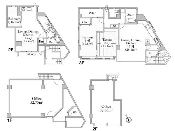 Minami Aoyama House Floorplan