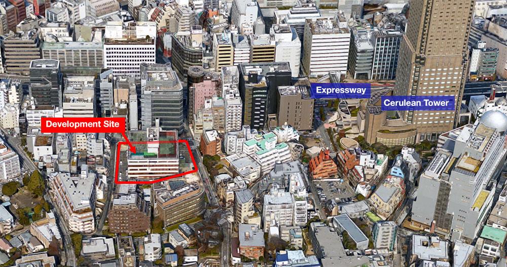 Mitsubishi Jisho Nanpeidaicho Site