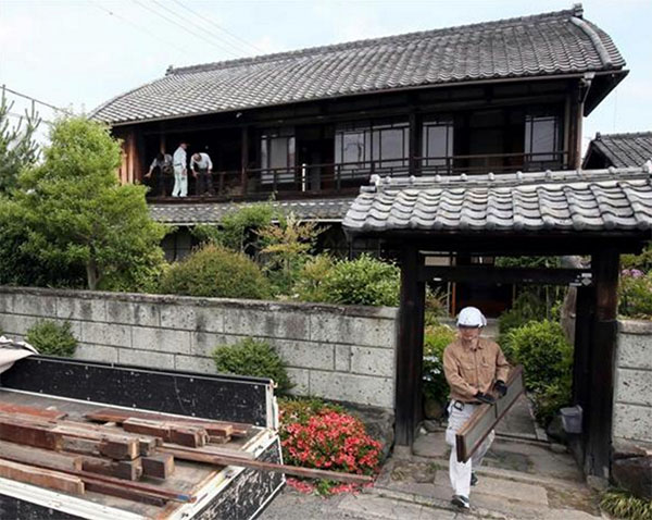 Demolition of philosopher's home in Kyoto starts this week