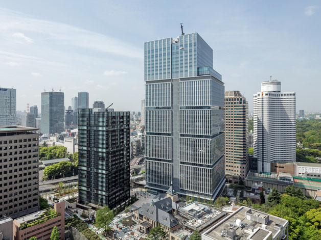 Kioi Residence luxury rental apartment building now 80% full