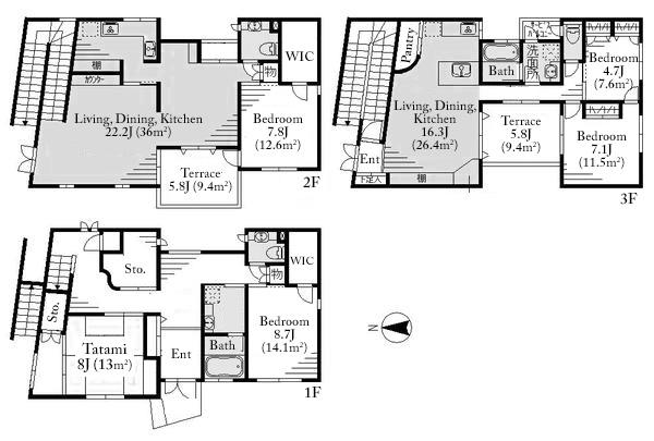 Akasaka 4 House Floorplan