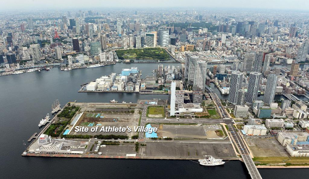 Tokyo 2020 Olympic Athletes Village