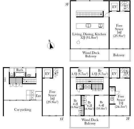 Yayoi House Floorplan