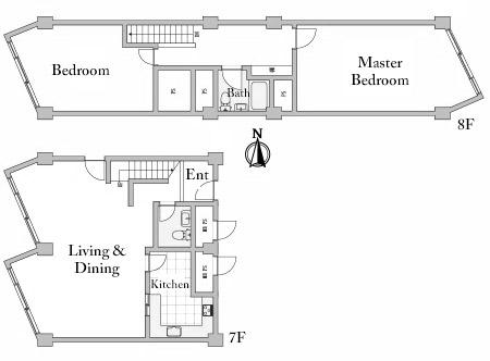 Coop Olympia 7 8F Floorplan