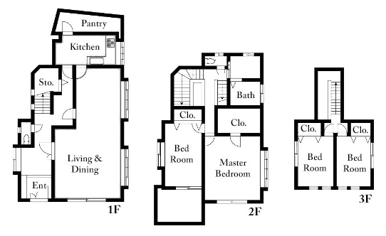 Minami Aoyama 7 House Floorplan