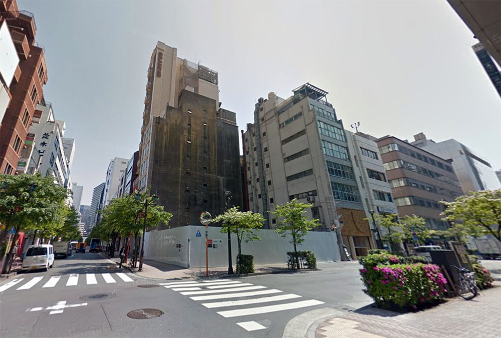 Land in Ginza sells for 43 million Yen/sqm
