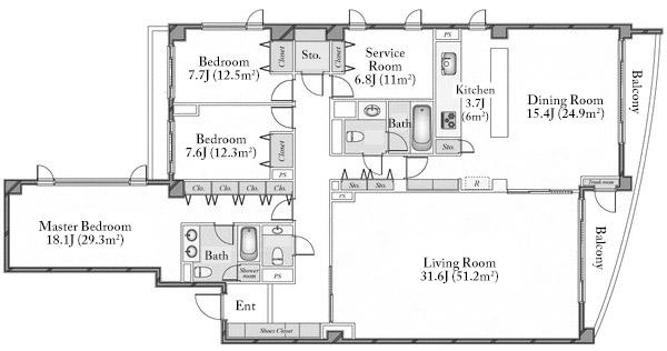 minamiazabu-5108-floorplan