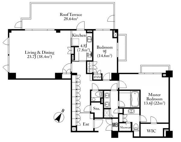 park-house-akasaka-shinsaka-5f-floorplan