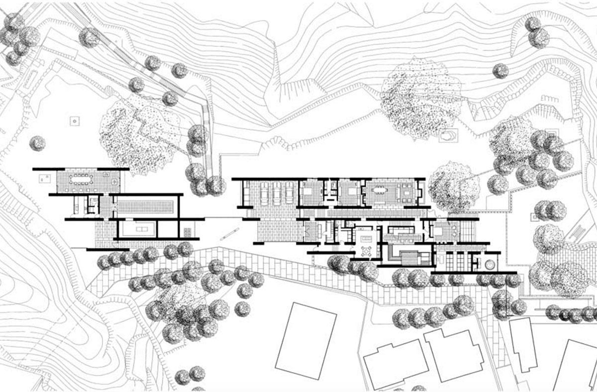 Japanese Apartment Floor Plan Norman Foster Designed House In Kamakura To Be Converted